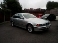 BMW 523i one years mot and full service history