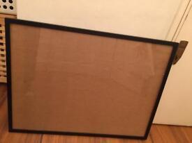 Large black frame