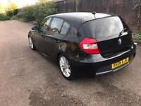 Bmw 1 series 118d m sport-5 dr hatcback-parking sensors-heated leather-part ex available