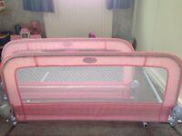 Bed guard/rail