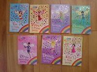 Rainbow Magic Fairy Books 1 to 56 & 78 to 98 plus 7 others. Used in good condition + 2 Tiara Clubs