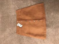 Oasis suede skirt brand new with tags