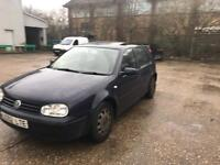 Vw golf 1.4 2002 10-months tax mot lady owner px swap we drive away bargain