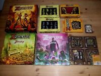 Zpocalypse Games Bundle by Greenbrier Games Brand New