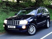 Mint 2008 JEEP Grand Cherokee Overland Edition 3.0 V6 CRD Auto trade in considered, credit cards ok.