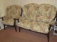 Cottage style, Two seater sofa and matching chair
