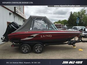 2016 lund boat co 186 Tyee GL Red/Silver