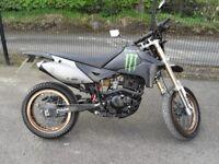 MOTOR BIKE SUPERMOTO 125CC