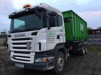 SCANIA P380 WITH DRAG