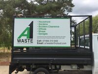 Rubbish & Waste Disposal services, builders, household, garden professional, reliable & friendly