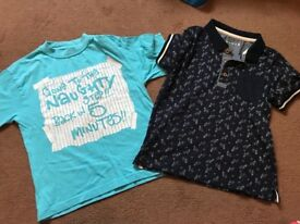 Bundle boys clothes and shoes aged 5-6