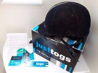 Just Togs JTE Series Horse Riding - Black Felt Hat - Size Medium Inc Box