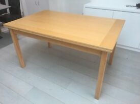 FREE - Extendable wooden dining table