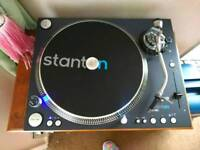 STANTON BRAND NEW RECORD PLAYER STR8/150 plus DUST COVER