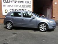 Vauxhall Astra 1.6 Breeze 5dr Full Years Mot
