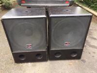 DAS Bass Bins / Subs / Speakers - 400 watts each