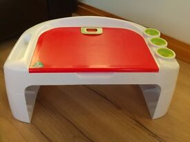 ELC small drawing desk for home or car