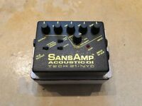 Tech 21 SansAmp Acoustic DI