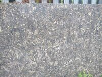Quartz Worksurfaces from £150 per linear metre Colour Siridium - REDUCED TO CLEAR