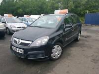 Vauxhall Zafira 2006, 2 owners, Service history, 7seater, Warranty & Finance available