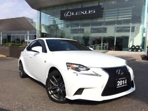 2014 Lexus IS 250 F Sport Premium Pkg Navi Backup Cam Sunroof