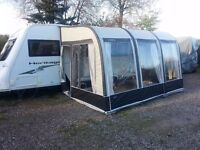 Bradcot Modus XL Porch awning with right hand extension. Bargain Price £150