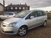 CHEAP 7 SEATER NEW SHAPE ZAFIRA - LOOKS & DRIVES SUPERB - LONG MOT