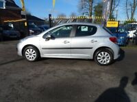 PEUGEOT 207 1.4 HDi S 5dr (a/c) (silver) 2010