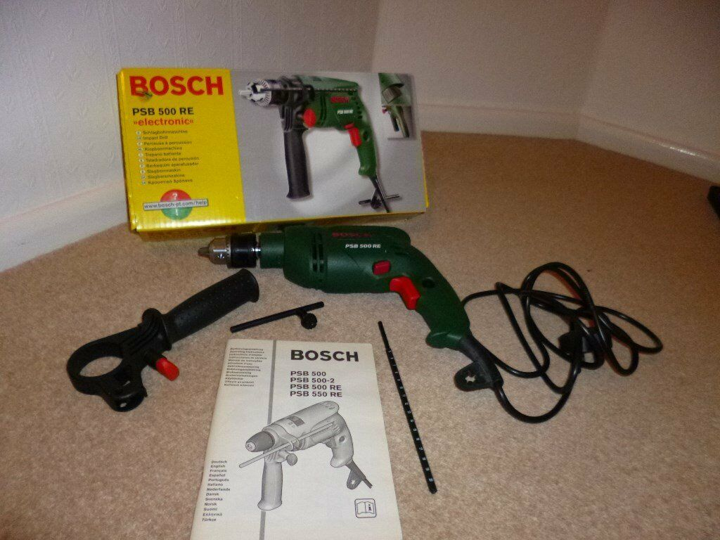 bosch psb 500 re hammer drill | in sutton, london | gumtree