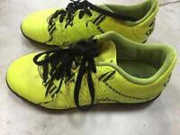 Adidas football boots UK size 1