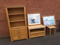 Solid Oak second hand, handmade furniture