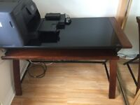 Nearly New Computer Desk with keyboard shelf.