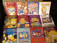 MUST GO BY TOMORROW NIGHT THE SIMPSONS DVDS PLUS THE MOVIE