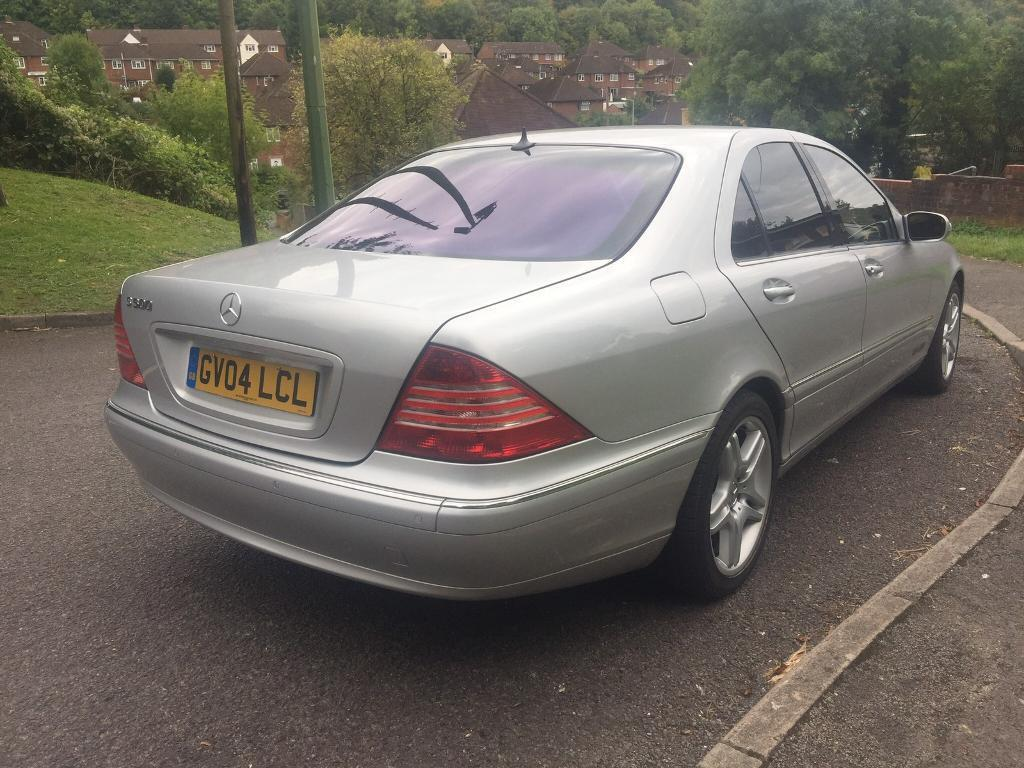2004 MERCEDES S500 FULLY LOADED FULL SERVICE HISTORY