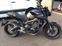 YAMAHA 2017 MT09 ABS NAKED SPEC QUICKSHIFTER LED TWIN EYE WITH EXTRAS BIKE IN SHOWROOM CONDITION