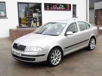 2005 SKODA OCTAVIA 1.9TDI ONLY 95K FSH R32 ALLOYS MOTD SUPERB CONDITION
