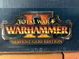PC Warhammer 2 Serpent God Collectors Edition