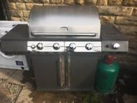Large Tuscany gas bbq used but in decent condition comes with gas bottle