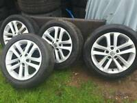 Nissan alloy wheels 17 inch