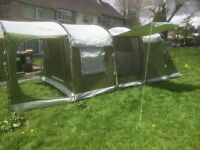 Scandika large 4 man Tunnel Tent