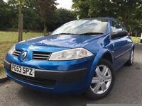 2003 RENAULT MEGANE. BRILLIANT DRIVE.RECENTLY SERVICED.WARRANTY offered.ELECTRIC WINDOWS. CD PLAYER.