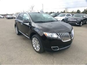 2013 Lincoln MKX / LTD / PANO ROOF / ALL OPTIONED / LOW KMS