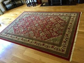 Large Meched Rug 170 cms by 240 cms excellent condition