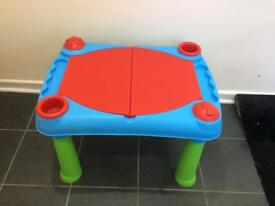 Kids play table toys r us drawing water coffee table sand desk