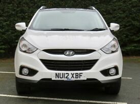 Hyundai IX35 don't let the milage put you of, this car looks like it has done half that.