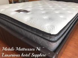 🍁🍁 £200 OFF OUR ~ 12 INCH DEEP HOTEL PILLOW TOP MATTRESSES ~ 5 STAR RATED (MR MATTRESSES NI )