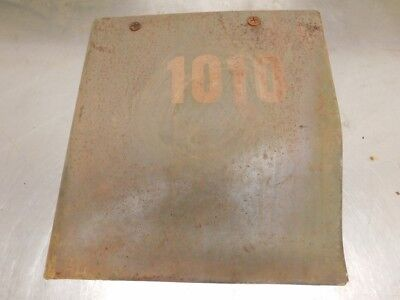 John Deere Early 1010 Tractor Right Side Rear Engine Side Panel At16330 12132