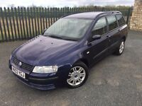2003 03 FIAT STILO 1.6 DYNAMIC ESTATE CAR - *LOW MILEAGE* - APRIL 2018 M.O.T - BE QUICK FOR THIS ONE