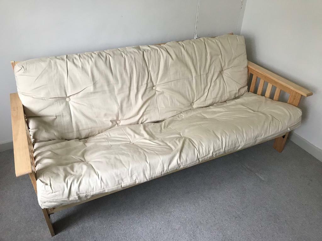Kyoto Cuba 3 Seat Futon Sofa Bed In