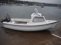 Orkney 440 Fishing Leisure 14ft Boat + Tohatsu 18 + Trailer